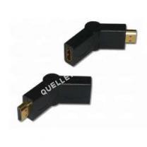 cables-connectiques-tv  Adaptateur câble HDMI mâle / femelle, rotatif